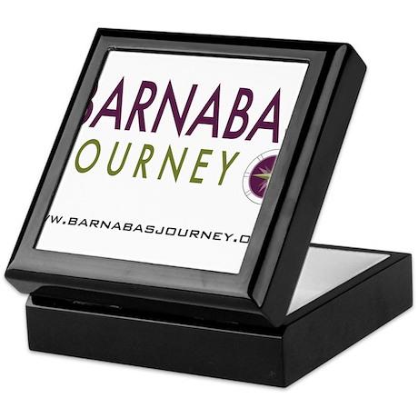 Barnabas Logo with Web Keepsake Box