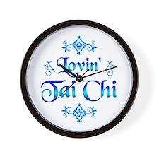 Lovin Tai Chi Wall Clock