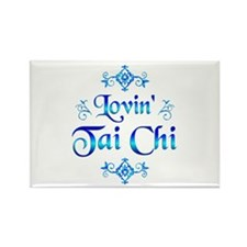 Lovin Tai Chi Rectangle Magnet (10 pack)