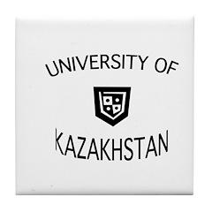 UNIVERSITY OF KAZAKHSTAN Tile Coaster