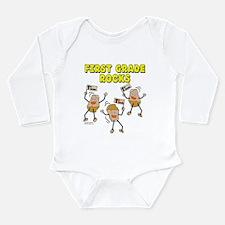First Grade Rocks Long Sleeve Infant Bodysuit