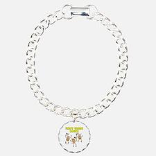 First Grade Rocks Charm Bracelet, One Charm