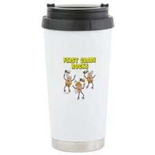 First Grade Rocks Travel Mug