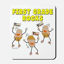 First Grade Rocks Mousepad