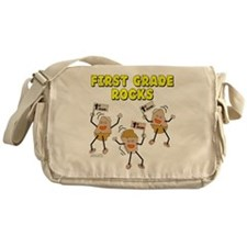 First Grade Rocks Messenger Bag