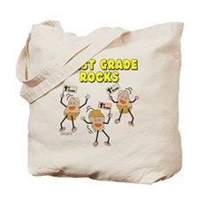 First Grade Rocks Tote Bag