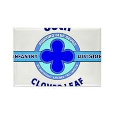 88th Infantry Division Clover Leaf Rectangle Magne
