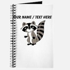 Custom Cartton Raccoon Journal