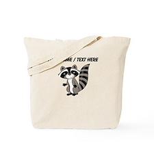 Custom Cartton Raccoon Tote Bag