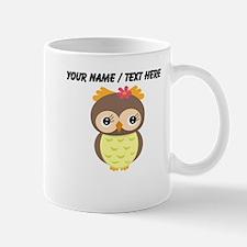 Custom Cartoon Owl Mug
