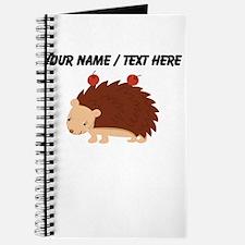 Custom Cartoon Porcupine Journal