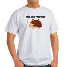 Custom Cartoon Porcupine T-Shirt
