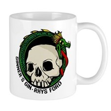 Rhys Ford Sinner's Gin Tattoo Tour Design Mug