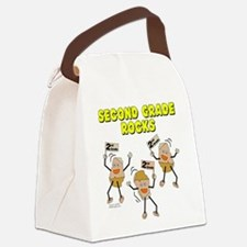 Second Grade Rocks Canvas Lunch Bag