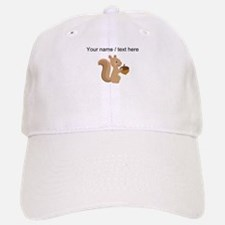 Custom Cartoon Squirrel Baseball Cap