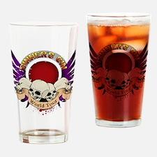 Sinner's Gin World Tour Design Drinking Glass