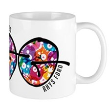 Sinner's Gin Funky World Tour Logo Mug