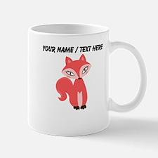 Custom Cartoon Red Fox Mug