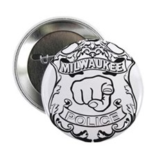 """Milwaukee Police All Up In That Ass 2.25"""" Button"""