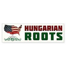 American Hungarian Roots Bumper Bumper Stickers