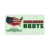 Hungarian flag License Plates