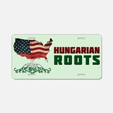 American Hungarian Roots Aluminum License Plate