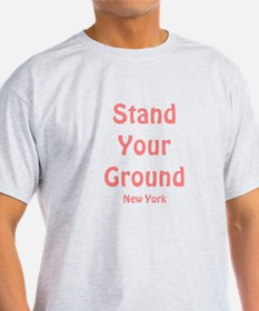 Stand Your Ground (pink) T-Shirt