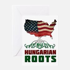 American Hungarian Roots Greeting Card