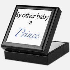 My other baby is a prince Keepsake Box