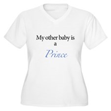 My other baby is a prince Plus Size T-Shirt