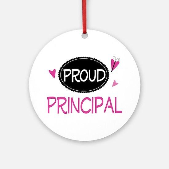 Proud Principal Ornament (Round)