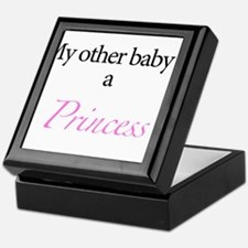 My other baby is a princess Keepsake Box