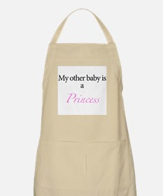 My other baby is a princess Apron