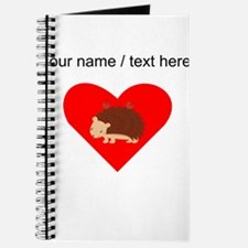Custom Porcupine Heart Journal