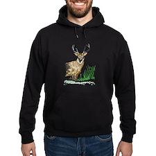 Deer with Antlers Hoodie