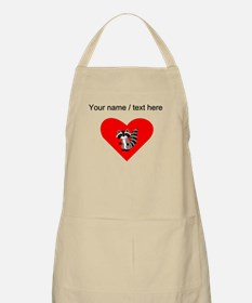 Custom Raccoon Heart Apron