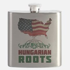 American Hungarian Roots Flask