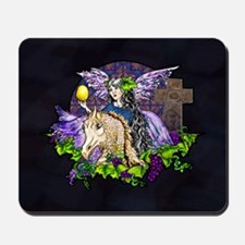 Gothic Cross And Fairy Eve Mousepad
