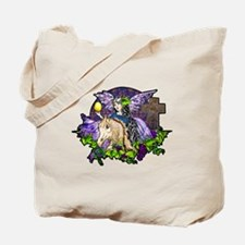 Gothic Cross And Fairy Eve Tote Bag