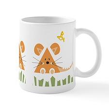 Mice and Cheese Small Mug