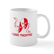 I Love Theatre Small Mugs