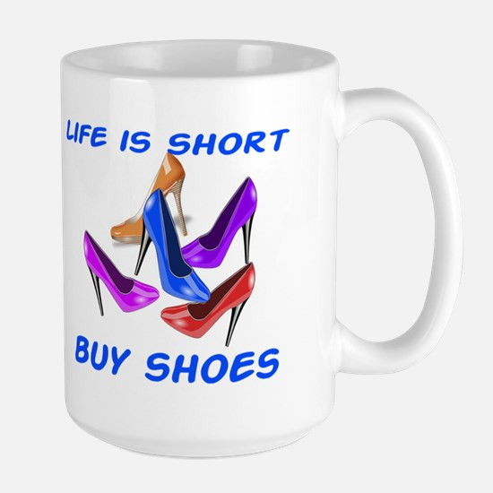 Buy Shoes Large Mug