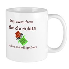 Chocolate Warning Mug