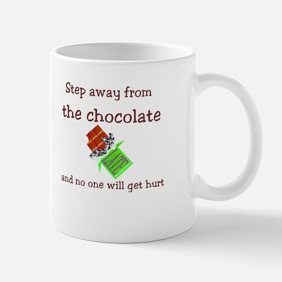 Chocolate Warning Mug