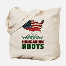 American Hungarian Roots Tote Bag
