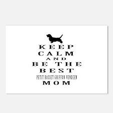Keep Calm Petit Basset Griffon Vendeen Designs Pos