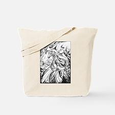 Winged Horse Fantasy Art Tote Bag