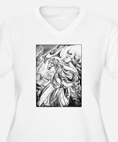 Winged Horse Fant T-Shirt