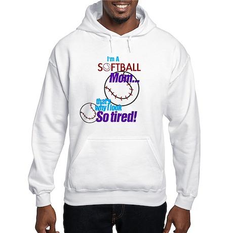 Softball Mom Hooded Sweatshirt