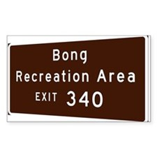 Bong Recreation Area exit 340 Decal
